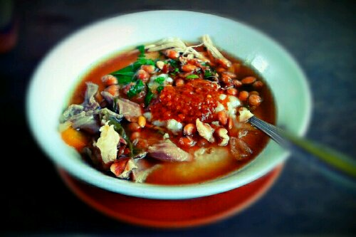 Bubur Sop Ayam